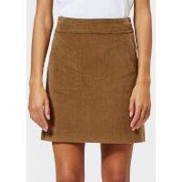 A.P.C. Women's Shanya Skirt - Beige - FR 36/UK 8 - Beige