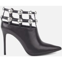 Alexander Wang Tina Leather Shoe Boots - Black