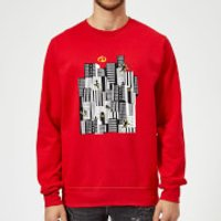 The Incredibles 2 Skyline Sweatshirt - Red - XL - Red