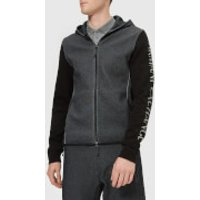 Armani Exchange Men's Zipped Hoody - Black - M - Black