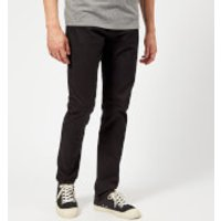 Armani Exchange Mens 5 Pocket Slim Brushed Cotton Trousers - Black - W30/L34 - Black
