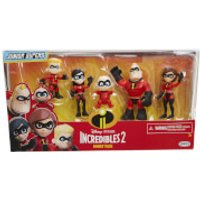 Jakks Pacific Disney Incredibles 2 Precool 3 Inch Figures 2 Family Pack - Family Gifts