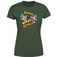 Camiseta Los Picapiedra Squad Goals - Mujer - Verde oscuro - XL - Forest Green