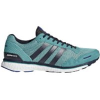adidas Adizero Adios 3 Running Shoes - Aqua/Ink - US 8/UK 7.5 - Blue