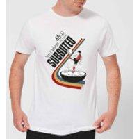 Subbuteo TABLE SOCCER 45 Men's T-Shirt - White - 5XL - White - Soccer Gifts