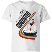 Subbuteo TABLE SOCCER 45 Kids' T-Shirt - White - 11-12 Years - White - Soccer Gifts