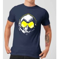Ant-Man And The Wasp Hope Mask Men's T-Shirt - Navy - XXL - Navy