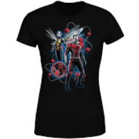 Ant-Man And The Wasp Particle Pose Women's T-Shirt - Black - XL - Black