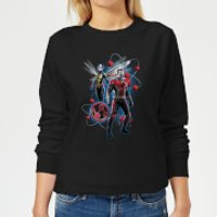 Ant-Man And The Wasp Particle Pose Women's Sweatshirt - Black - 3XL - Black