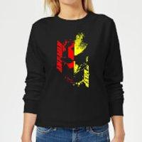 Ant-Man And The Wasp Split Face Women's Sweatshirt - Black - XXL - Black