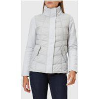 Barbour Womens Hayle Quilt Jacket - Ice White/Ice White - UK 14 - White