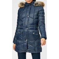 Barbour Women's Hamble Quilt Jacket - Navy - UK 14 - Blue