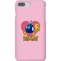 Funda móvil Nintendo Super Mario You're The Bob-Omb para iPhone y Android - iPhone 8 Plus - Carcasa rígida - Mate