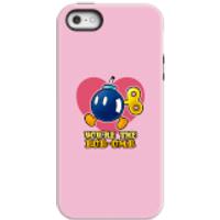 Funda móvil Nintendo Super Mario You're The Bob-Omb para iPhone y Android - iPhone 5/5s - Carcasa doble capa - Mate