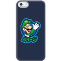 Funda móvil Nintendo Super Mario Luigi Kanji para iPhone y Android - iPhone 5/5s - Carcasa rígida - Mate