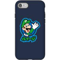 Funda móvil Nintendo Super Mario Luigi Kanji para iPhone y Android - iPhone 7 - Carcasa doble capa - Brillante