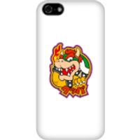 Funda móvil Nintendo Super Mario Bowser Kanji para iPhone y Android - iPhone 5C - Carcasa rígida - Mate