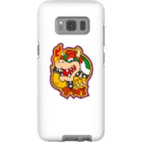 Funda móvil Nintendo Super Mario Bowser Kanji para iPhone y Android - Samsung S8 - Carcasa doble capa - Brillante