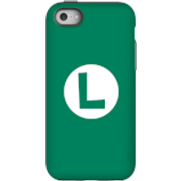 Nintendo Super Mario Luigi Logo Phone Case - iPhone 5C - Tough Case - Matte
