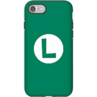 Funda móvil Nintendo Luigi Logo para iPhone y Android - iPhone 7 - Carcasa doble capa - Mate