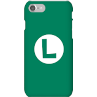 Nintendo Super Mario Luigi Logo Phone Case - iPhone 7 - Snap Case - Gloss