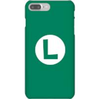 Luigi Logo Phone Case - iPhone 7 Plus - Snap Case - Gloss