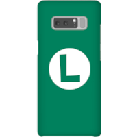 Funda móvil Nintendo Luigi Logo para iPhone y Android - Samsung Note 8 - Carcasa rígida - Brillante