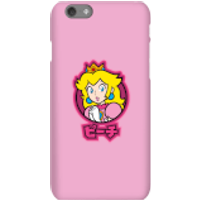 Nintendo Super Mario Peach Kanji Phone Case - iPhone 6S - Snap Case - Gloss