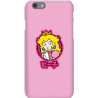 Funda móvil Nintendo Super Mario Peach Kanji para iPhone y Android - iPhone 6S - Carcasa rígida - Brillante