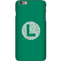 Funda Móvil Nintendo Super Mario Luigi Items Logo para iPhone y Android - iPhone 6 Plus - Carcasa rígida - Mate