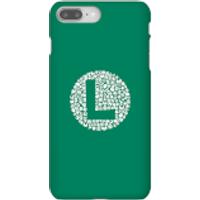 Funda Móvil Nintendo Super Mario Luigi Items Logo para iPhone y Android - iPhone 8 Plus - Carcasa rígida - Mate