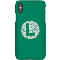 Funda Móvil Nintendo Super Mario Luigi Items Logo para iPhone y Android - iPhone X - Carcasa rígida - Mate