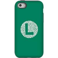 Funda móvil Nintendo Luigi Logo para iPhone y Android - iPhone 5C - Carcasa doble capa - Mate