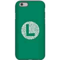 Funda Móvil Nintendo Super Mario Luigi Items Logo para iPhone y Android - iPhone 6S - Carcasa doble capa - Mate