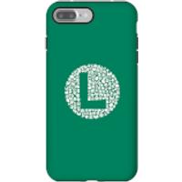 Funda Móvil Nintendo Super Mario Luigi Items Logo para iPhone y Android - iPhone 7 Plus - Carcasa doble capa - Mate