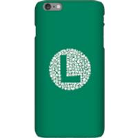 Funda Móvil Nintendo Super Mario Luigi Items Logo para iPhone y Android - iPhone 6 Plus - Carcasa rígida - Brillante