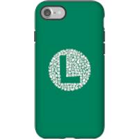 Funda móvil Nintendo Luigi Logo para iPhone y Android - iPhone 7 - Carcasa doble capa - Brillante