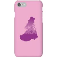 Nintendo Super Mario Peach Silhouette Phone Case - iPhone 7 - Snap Case - Gloss