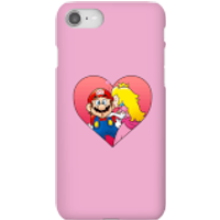 Nintendo Super Mario Peach Kiss Phone Case - iPhone 8 - Snap Case - Gloss