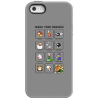 Funda móvil Nintendo Know Your Enemies para iPhone y Android - iPhone 5/5s - Carcasa doble capa - Brillante