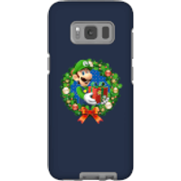 Nintendo Super Mario Luigi Present Phone Case for iPhone and Android - Samsung S8 - Tough Case - Matte - Present Gifts