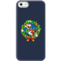 Nintendo Super Mario Luigi Present Phone Case for iPhone and Android - iPhone 5/5s - Snap Case - Gloss - Present Gifts
