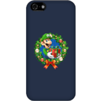 Nintendo Super Mario Luigi Present Phone Case for iPhone and Android - iPhone 5C - Snap Case - Gloss - Present Gifts