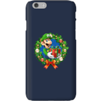 Nintendo Super Mario Luigi Present Phone Case for iPhone and Android - iPhone 6 - Snap Case - Gloss - Present Gifts