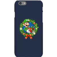 Nintendo Super Mario Luigi Present Phone Case for iPhone and Android - iPhone 6S - Snap Case - Gloss - Present Gifts