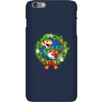 Nintendo Super Mario Luigi Present Phone Case for iPhone and Android - iPhone 6 Plus - Snap Case - Gloss - Present Gifts