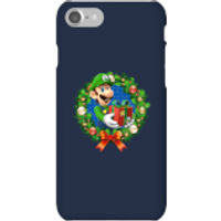 Nintendo Super Mario Luigi Present Phone Case for iPhone and Android - iPhone 7 - Snap Case - Gloss - Present Gifts
