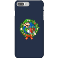 Nintendo Super Mario Luigi Present Phone Case for iPhone and Android - iPhone 7 Plus - Snap Case - Gloss - Present Gifts