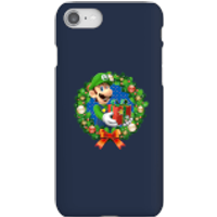 Nintendo Super Mario Luigi Present Phone Case for iPhone and Android - iPhone 8 - Snap Case - Gloss - Present Gifts