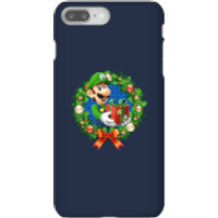 Nintendo Super Mario Luigi Present Phone Case for iPhone and Android - iPhone 8 Plus - Snap Case - Gloss - Present Gifts